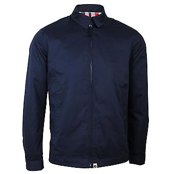 Pretty green men's navy harrington jacket