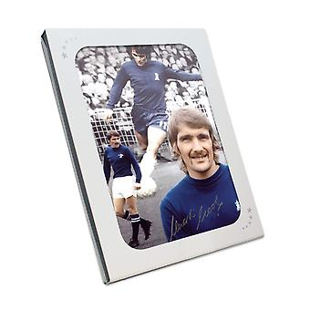 Charlie Cooke firmato Chelsea Foto in scatola regalo