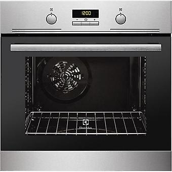 Pyrolytic oven electrolux 201080 2515w 60 l inox
