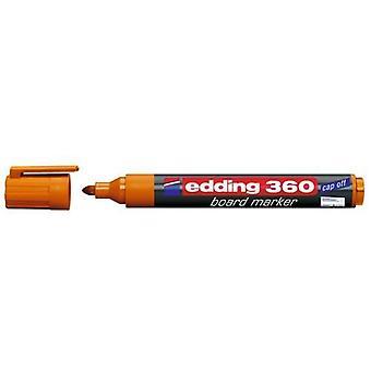 edding-360 marcador de placa laranja 10PC 1,5-3 mm / 4-360006