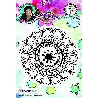 Studio Light Cling Stamp bloemen Kunst Door Marlene nr.05 STAMPBM05 10x10cm