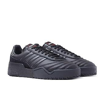 Adidas Originals X Alexander Wang Bball Black Leather & Suede Soccer Trainers