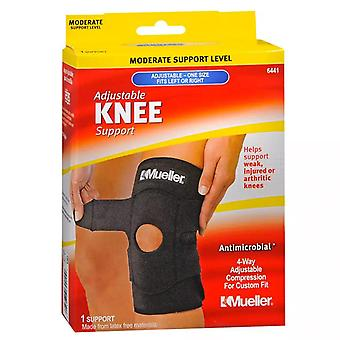 Mueller sport care adjustable knee brace, moderate, one size, 1 ea