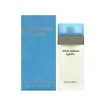 Hellblau von dolce & Gabbana für Frauen 0,8 oz Eau de Toilette Spray