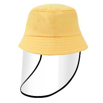 Allthemen anti sliny deti klobúk odnímateľný ochranný štít na tvár plnej tvári kryt maska