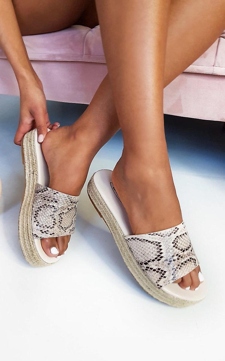 IKRUSH Womens Darcey Woven Flatform Sandals kl1zJ