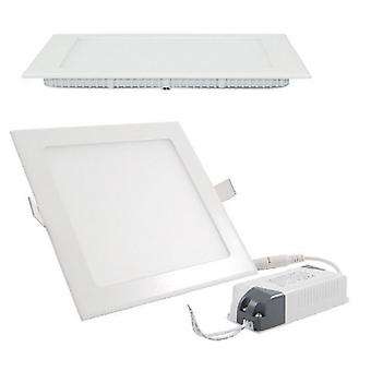 I LumoS LED 24 Watt Square Recessed Lighting Panel UltraSlim Ceiling Light Warm White
