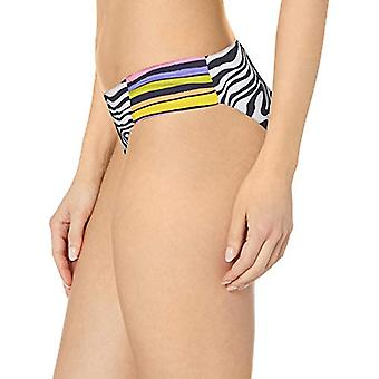 Trina Turk Women's Shirred Side Hipster Pant Bikini Swimsuit Bottom, Black//Z...
