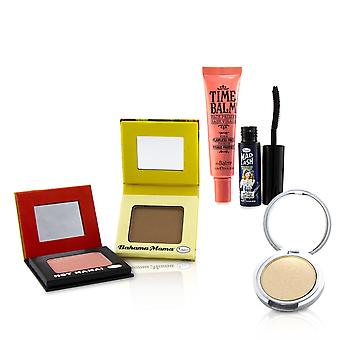 Travel size classics set (1x shadow/blush, 1x bronzer, 1x mascara, 1x primer, 1x highlighter/shadow) 241926 5pcs+1bag