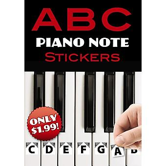 A B C Piano Note Stickers by Dover Publications & Inc.