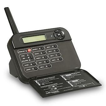 Goldline AQL2-TB-RF-PS-8 Black Wireless Tabletop Display