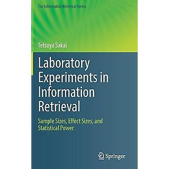 Laboratory Experiments in Information Retrieval - Sample Sizes - Effec