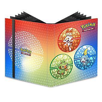 Ultra Pro Pokémon Sword & Shield Gala Starters 9-P Pro Binder