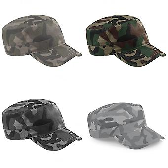 Beechfield Camouflage Army Cap / Headwear (Pack of 2)