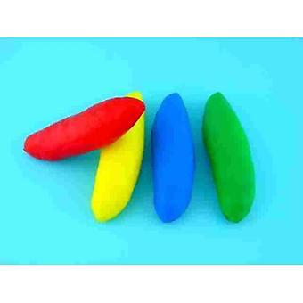 """EVM-0027, Schaum Süßkartoffeln - Satz von 4 Farben, 8"""" L"""