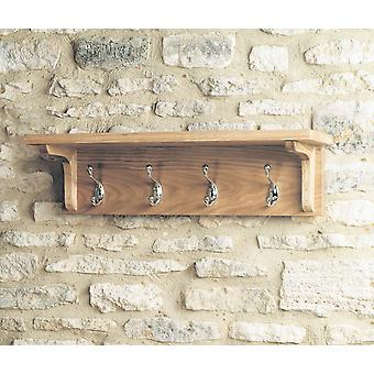 Mobel eik veggmontert Coat Rack Brown - Baumhaus