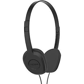 KOSS KPH8k On-ear headphones On-ear Light-weight headband Black