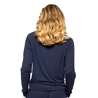Cyberjammies Alexa 4513 Frauen's Marine blau Pyjama Top
