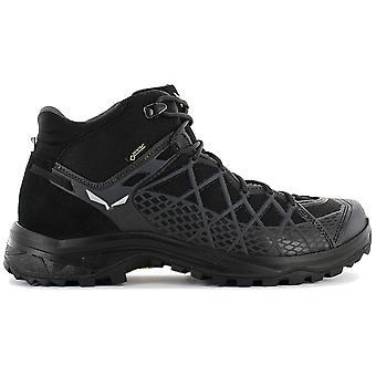 Salewa WILD HIKER MS MID GTX - Gore-Tex - Men's Hiking Shoes Black 61340-0971 Sneakers Sports Shoes