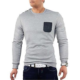 Mr. Shirt Longsleeve Shirt Form-fitting sweater Clubwear