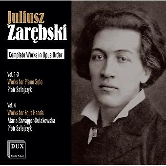 Zarebski / Salajczyk - Piano Works [CD] USA import