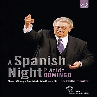 Domingo Conducts a Spanish Night [DVD] USA import