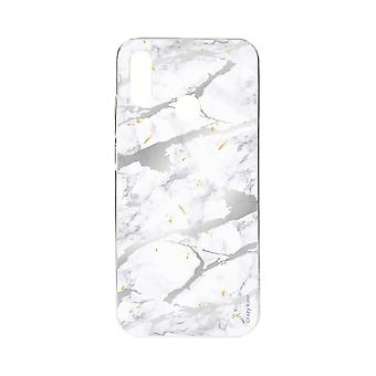 Hull For Xiaomi Redmi Note 7 Soft Grey Marble Effect