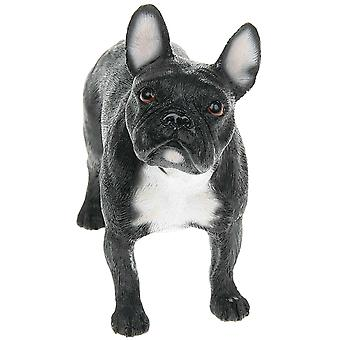 Black French Bulldog Figurine