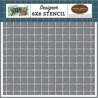 Carta Bella Stick Grid 6x6 pulgadas plantilla