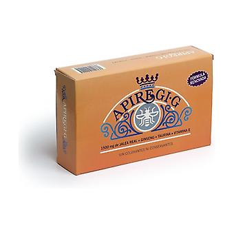 Apiregi G Royal Jelly with Ginseng 20 ampoules of 600mg