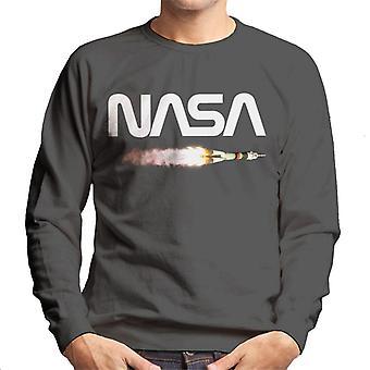 NASA lancio Soyuz Logo Felpa