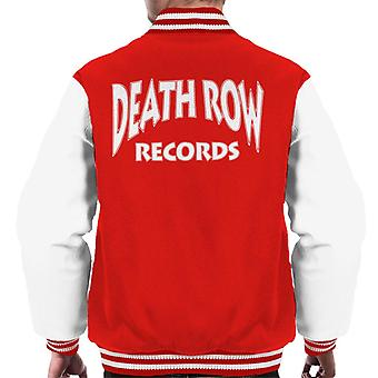 Death Row Records Logo witte mannen Varsity Jacket