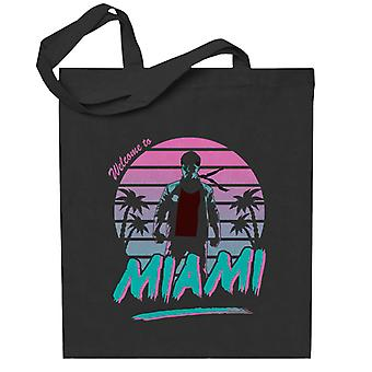 City Of Fury Kung Fury Totebag