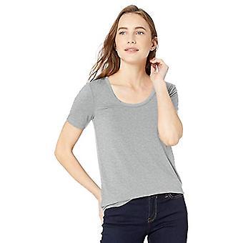 Marka - Daily Ritual Women&s Jersey Koszula z krótkim rękawem, jasnooszara, XX-large