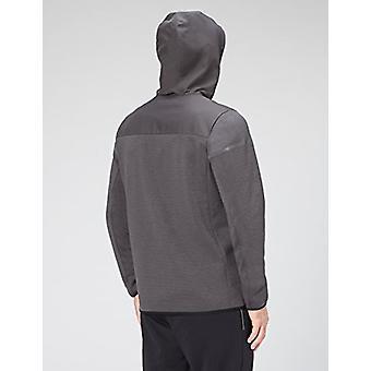 Peak Velocity Men's Axiom Full-Zip Water-Repellent Loose-Fit Jacket, asfalto/...