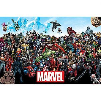 Marvel universet plakat 252