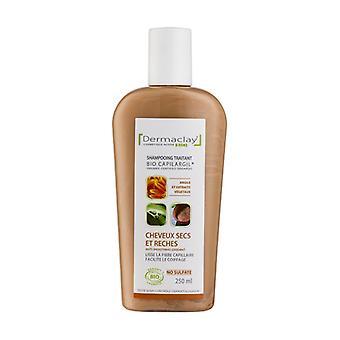 Treating dry and recess hair, organic antioxidant 250 ml