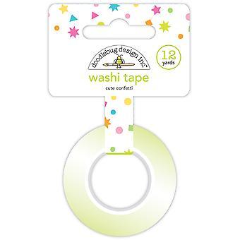 Doodlebug Design Cute Confetti Washi Tape