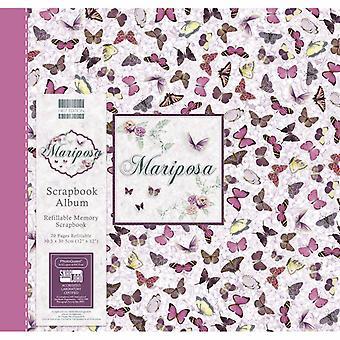 Primera Edición Mariposa 12x12 pulgadas álbum mariposa
