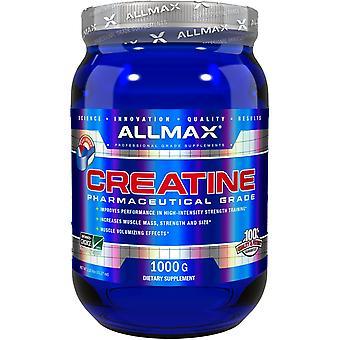 ALLMAX Nutrition, Kreatinpulver, 100% reines mikronisiertes Kreatin-Monohydrat, Tel