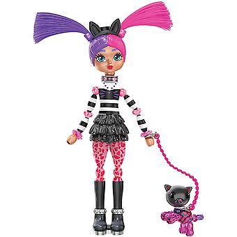 Twisty Girlz - Series 1 Transforming Doll - Kitty Katt