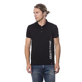 Roberto Cavalli Sport Musta T-paita -- RO99682992