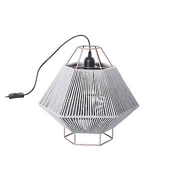 1 Light Table Lamp Black, Grey, E27