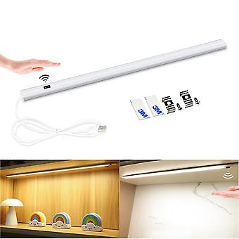 Smart Led Wall Lamp With Hand Sweep Switch Motion Sensor  For Kitchen Cabinet  Corridor  Toilet Backlight