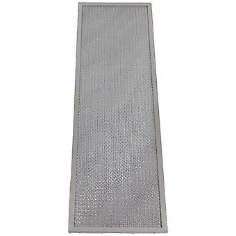 Universal spis huva metall fettfilter 465mm x 153mm