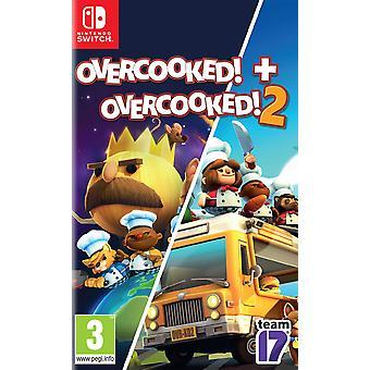 Overcooked! + Overcooked! 2 Nintendo Switch Game