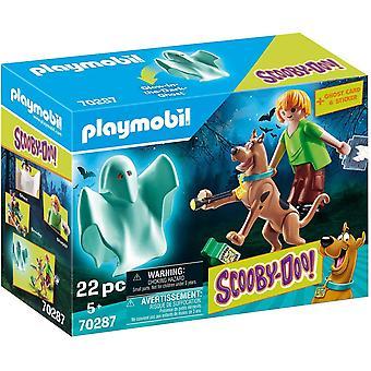 Playmobil 70287 Scooby-Doo! Scooby en Shaggy met Ghost