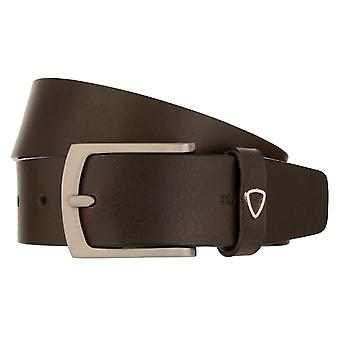 Strellson belts men's belts leather leather belt Brown 2846