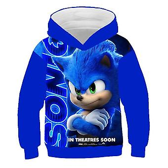Sonic The Hedgehog tištěná mikina/dívky
