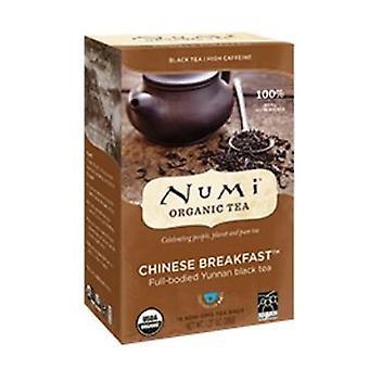 Numi Tea Chinese Breakfast Black Tea, 18 Bag